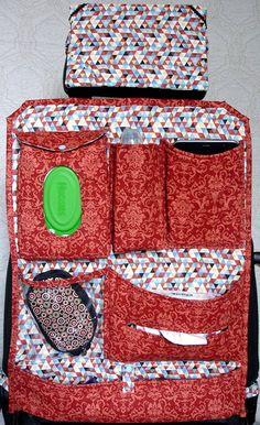 Kit Carro 4 peças. Organizador +