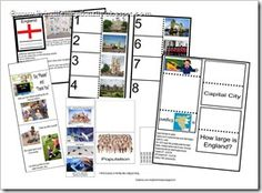 Click to download FREE ENGLAND lapbook from www.livinglifeintentionally.blogspot.com