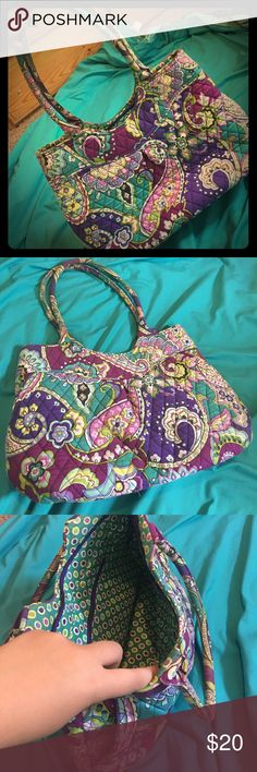 Trendy Vera Bradley Bag! Looking for something new and fresh?! Add a pop of color with something from my shop!! I'm always offering discounts on my loads of Plus Size Clothing!! Start a bundle and I'll make a great deal!! Vera Bradley Bags Shoulder Bags