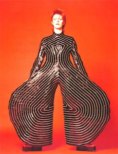 I'd like to also have the photo of Bowie wearing this outfit 20 years later for Interview Magazine. If you have it, let me know!