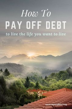 How to pay off debt? You want to live the life you want to live.  Get rid of debt today.  No more credit card debt, student loans, or auto loans.  Make a plan to get out of debt quickly or in 6 months.  Use one of these methods: Debt snowball vs. debt ava