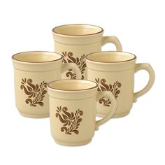 Pfaltzgraff Village Coffee Mug 14Ounce Set of 4 ** Visit the image link more details.