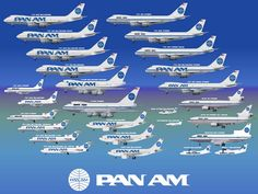 Pan Am planes - Google 検索