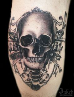 Cally-Jo #InkedMagazine #skull #tattoo #tattoos #inked #skeleton