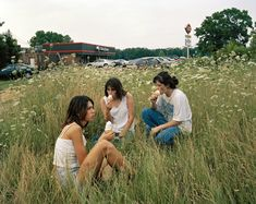 Enjoying an ICE Cream from Dairy Queen in a field with high grass. Justine Kurland Captures the Lawless Energy of Teen-Age Girls Nostalgia, Justine Kurland, Lise Sarfati, Teenage Dream, Summer Aesthetic, Coming Of Age, The New Yorker, Running Away, Adolescence