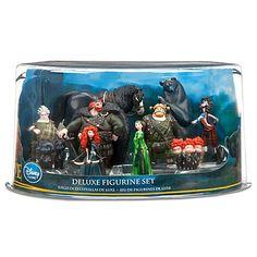 Disney / Pixar BRAVE Movie Exclusive 10Piece Deluxe PVC Figurine Set
