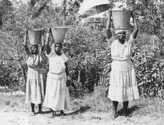 Water Carriers, Trinidad.