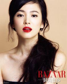 송혜교 - Song Hye Kyo - perfect red lips