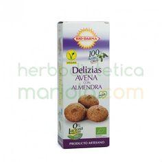 Bio-Darma, Delizias de Avena con Almendras, aportan mucha fibra y tienen un alto contenido en proteinas y vitaminas. Son el mejor complemento para una alimentación saludable.