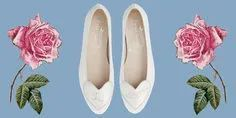 Emmy Bridal Flats | One Fab Day Wedding Boots, Wedding Heels, Sparkly Flats, High End Shoes, Bridal Flats, Ballerina Pumps, Minimalist Beauty, Exclusive Shoes, Pretty Ballerinas