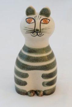 Gustavsberg Lisa Larson Tripp Cat