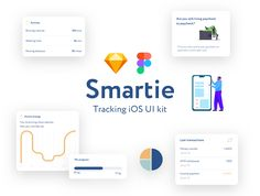 Smartie UI Kit is specially optimized for iOS with minimal style. It includes 20 mobile screen app templates of the highest quality. This UI Kit was designed for Sketch and Figma. Ios Ui, App Design, Design Art, Best Friendship, Ui Kit, Things To Sell, Artworks, Illustration, Illustrations