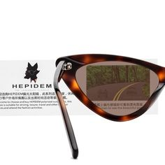 c71ed72733 HEPIDEM Acetate Sexy Cateye Polarized Sunglasses for Women with Cat Eye  Frame 9104T Leopard  gt