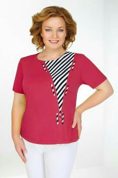 44 Plus Size Blouses To Inspire Yourself Gorgeous Plus Size Blouses from 44 of the Cool Plus Size Blouses collection is the most trending fashion outfit this season. This Plus Size Blouses lo. Casual Outfits, Cute Outfits, Fashion Outfits, Sewing Blouses, Mode Abaya, Techniques Couture, Altering Clothes, Elegant Outfit, Plus Size Blouses