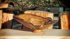 Woodturning a flower shaped plate! ξυλοτορνος - κατασκευη πιατου σε σχημ...