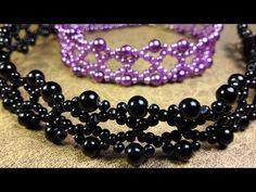 Aros de Perlas en forma de Racimos...Clase #28!!! - YouTube