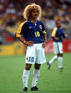 Fifa Football, Football Icon, Football Boys, Football Shirts, Carlos Valderrama, Soccer World, World Football, Colombia Soccer Team, Premier League