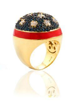 Cooler than Wonder Woman's bracelet: Wonder Woman's ring