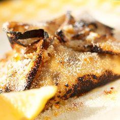 Pancake Recipe: Sizzling lemon pancakes - See more recipes like this at goodhousekeeping.co.uk