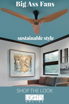 From Big Ass Fans, the Haiku collection of ceiling fans is designed with the utmost care from start to finish. No-fade finishes, efficient motors, sensors that detect occupancy and even blades crafted from sustainable Moso bamboo on certain models! Big Ass Fans are now available at LightsOnline. #CeilingFans  #SustainableDesign Sustainable Design, Sustainable Fashion, Moso Bamboo, Lighting Online, Ceiling Fans, Haiku, Motors, Sustainability, Gallery Wall