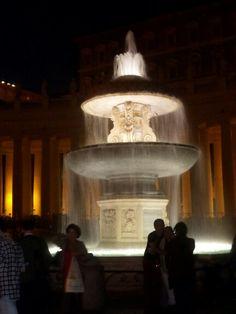 De fontein voor de Sint Pieter ~ dag 2