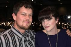 my son and his gal. Bill and Megan