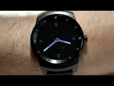The LG G Watch R is the most beautiful smartwatch so far - YouTube