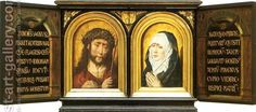Christ Crowned with Thorns and Mater Dolorosa Aelbrecht Bouts ...