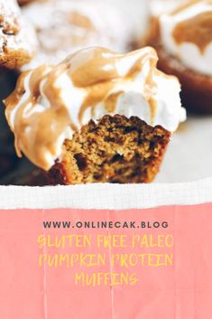 Pumpkin Cookie Recipe, Pumpkin Cookies, Pumpkin Recipes, Cookie Recipes, Dessert Recipes, Desserts, Pumpkin Protein Muffins, Healthy Food, Healthy Recipes