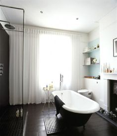 fireplaces in the bathroom inspiration_34