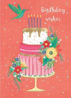 Leading Illustration & Publishing Agency based in London, New York & Marbella. Happy Birthday Art, Happy Birthday Images, Happy Birthday Greetings, Birthday Messages, Birthday Pictures, Birthday Bash, It's Your Birthday, Birthday Celebration, Birthday Cards