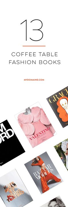 Must-have coffee table fashion books
