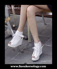 White Sneaker Wedges 04 - http://sneakersology.com/white-sneaker-wedges-04/