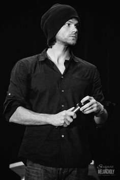 """stardustandmelancholy: """" Jared Padalecki, Salute to Supernatural Vancouver 2015 Photography by Stardust and Melancholy """""""
