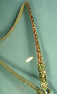 Belt from the Colmar treasure, first half of the 14th century. French Girdle. Museé de Moyenage