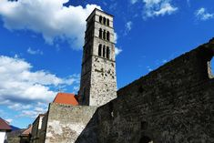 The bell tower of st. Luke which is situated near to Jajce fortress. St Luke, San Francisco Ferry, Tower, Architecture, Building, Travel, Arquitetura, Viajes, Computer Case