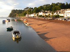 Shaldon Beach towards the Ness headland Exeter Devon, South Devon, Devon England, Holiday Pictures, Great Britain, Seaside, Countryside, Places To Go, Photo Galleries