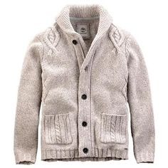 Timberland - Pull Beech River Cable Cardigan - Laine et Nylon - Homme  Tricot Homme, f26bd6c719e
