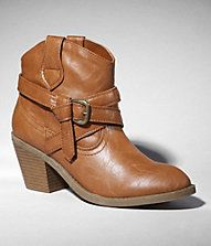 western ankle boots for the bridesmaids - $70 @ express