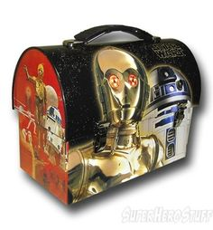 Images of Star Wars C-3PO and R2-D2 Domed Lunchbox