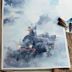 Мы испытываем острую любовь к поездам и паровозам. На последних в наши дни можно покататься, только как на аттракционе…