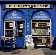 The Old Town Bookshop, Victoria Street, Edinburgh