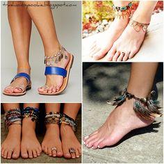 Ankle Bracelets Beaded Leather Crafts Anklets Diy Tutorial Bracelet Clothes Jewelry Ideas