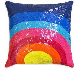 Jonathan Adler Nico Sunrise Throw Pillow found on Polyvore