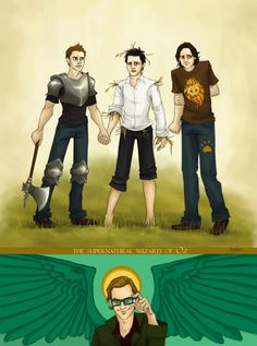 The Supernatural Wizard of Oz by ~Beginte on deviantART