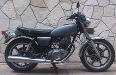 Moto Yamaha SR500
