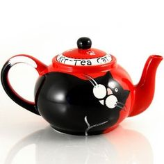 Lorrie Veasey Kitty Teapot