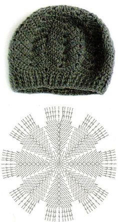 4 diferentes puntos a crochet para gorros originales – 4 verschiedene Häkelstiche für Originalmützen – Knitting PatternsKnitting HumorCrochet PatternsCrochet Bag Bonnet Crochet, Crochet Beret, Crochet Cap, Crochet Fabric, Crochet Diagram, Crochet Motif, Crochet Designs, Knitted Hats, Tutorial Crochet