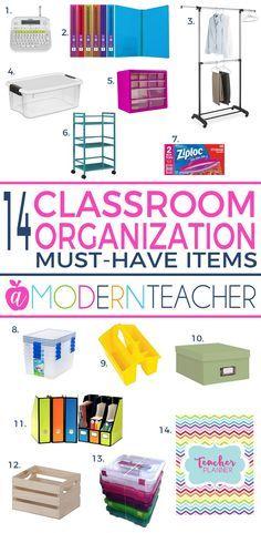 Classroom Organization Must-Haves