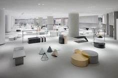 """Rather than categorising merchandise by brand, nendo's """"Siam Discovery"""" retail complex in Bangkok is organised around the theme of a """"Lifestyle Laboratory""""."""